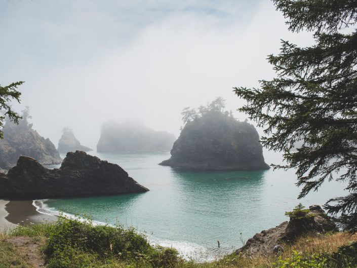 Secret Beach Brookings Oregon coast